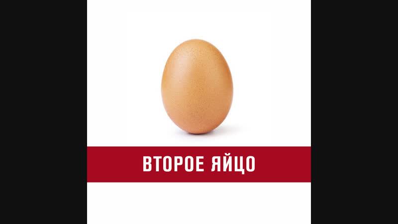 Второй мем с яйцом в Instagram набирает миллионы лайков