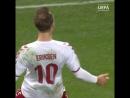 Лучший гол сезона: Кристиан Эриксен?