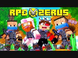 Demaster ОГО ЭТО РЕАЛЬНО КРУТОЕ РПГ В МАЙНКРАФТЕ! ОЧЕНЬ И ОЧЕНЬ КАЧЕСТВЕННО! Minecraft RPG Azerus