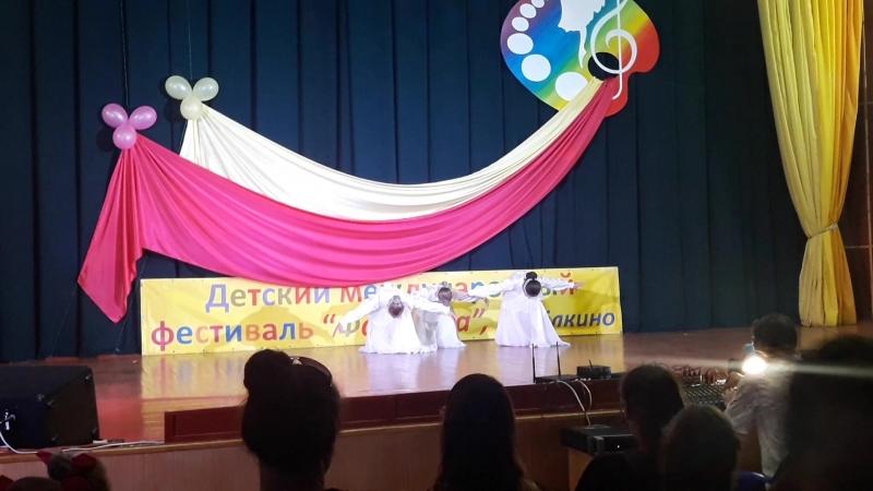 наш 1-й танец на конкурсе- это Крым