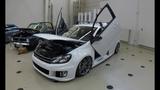 VOLKSWAGEN VW GOLF 6 MK6 VI WITH LAMBO DOORS ! TUNING SHOW CAR ! WALKAROUND + INTERIOR !