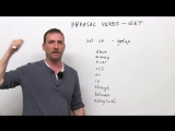 10 GET Phrasal Verbs get down, get off, get through, get up, get away... (Learn English with Adam) (transcript + quiz)