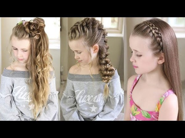 11 Best Kids Hairstyles For Girls ❀ Amazing Hair Transformation