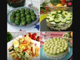 Топ 5 самых вкусных салатов для праздничного стола!!!