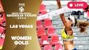 Las Vegas 4 Star 2018 FIVB Beach Volleyball World Tour Women Gold Medal Match