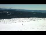 Сноукайтинг в горах