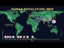 Human Population Through Time[HD,1280x720]