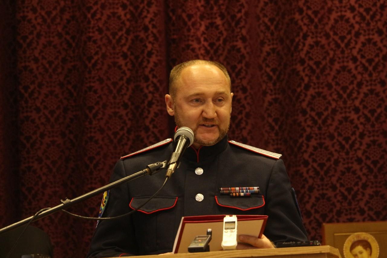 Сергей Юрченко представил ЛНР на Большом Круге Союза казаков России и Зарубежья