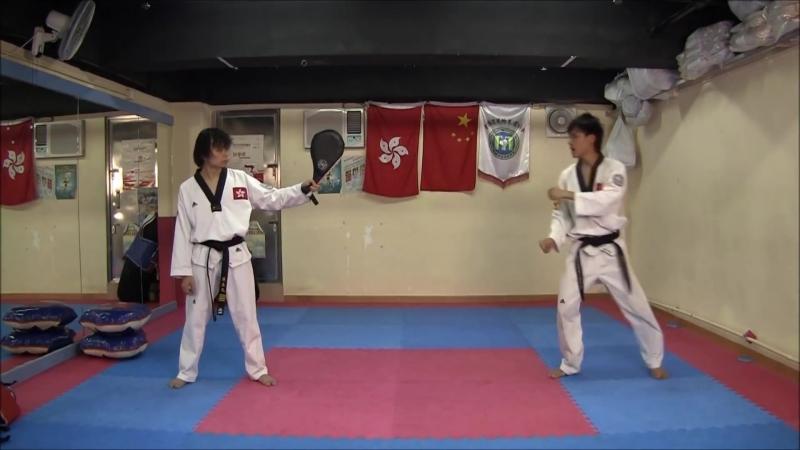 Тхеквондоудары ногами в таеквон до