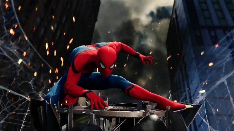 Campfire - Superhuman (Spider-Man PS4)