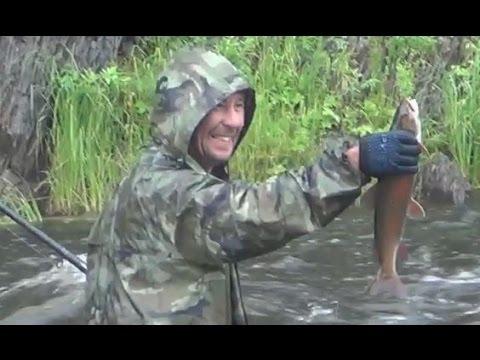 Выживание в девственной тайге Охота Рыбалка Сибирь Медведь Тайга Хариус Таймень