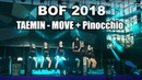 ChoroChangwa BOF2018 Day2 TAEMIN MOVE Pinocchio dance cover