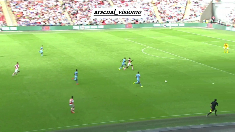 Arsenal vs Manchester City ,by arsenal_vision10