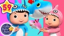 Baby Shark Dance | More Nursery Rhymes Kids Songs | Songs For Kids | Little Baby Bum