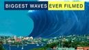 BIGGEST WAVES EVER FILMED (TSUNAMI, STORM, SURF, TYPHOON)