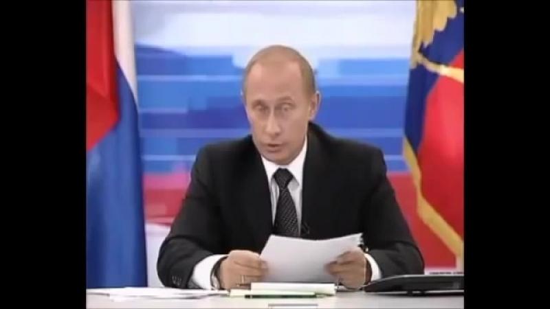 Путин про 3 президентский срок [2003] . Прямая линия...