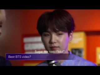 From their musical taste to what theyre listening to now, go behind-the-scenes with @bts_t