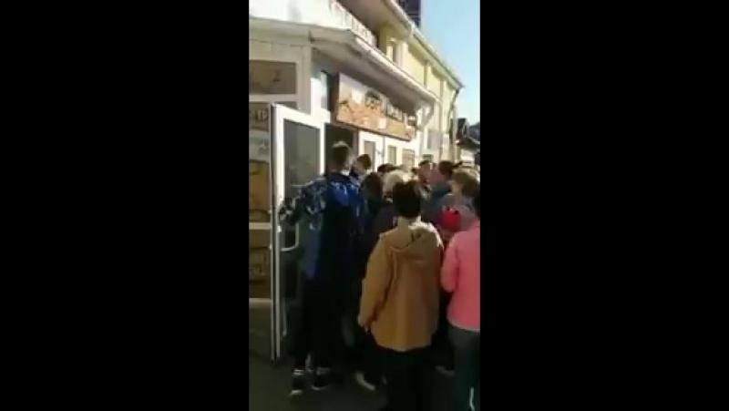 Секонд-хенд в Дрогобыче, львовская область