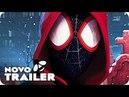 Homem-Aranha No Universo Aranha Trailer Português (2018) No Aranhaverso