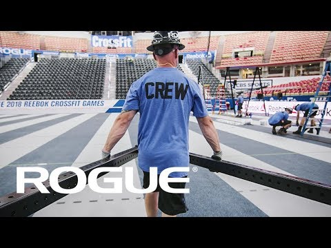The Rogue Rig Crew getting it done — 2018 CrossFit Games 8K