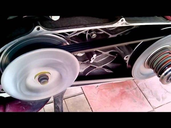 Honda Silver Wing 600: новый ремень вариатора