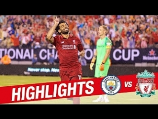 Salah & Mane on target at the Metlife | Manchester City 1-2 Liverpool | Pre-Season 18-19