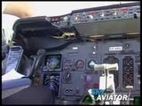 Cockpit Flightdeck Video Estonian Air Boeing 737-500 CLASSIC Tallinn-Oslo-Tallinn FULL MOVIE