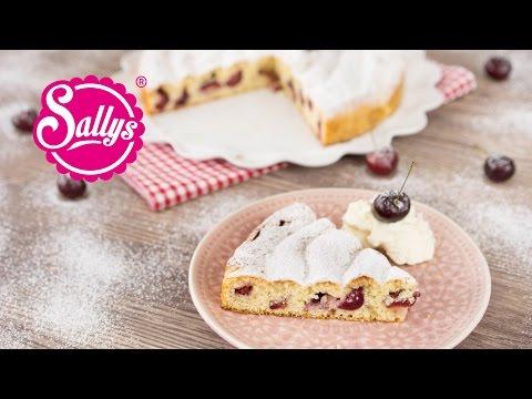 Kirschkuchen mit Quark-Öl-Teig / Sallys Basics