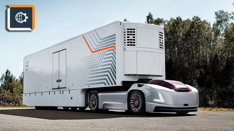 Volvo Показала Беспилотный Грузовик БЕЗ КАБИНЫ