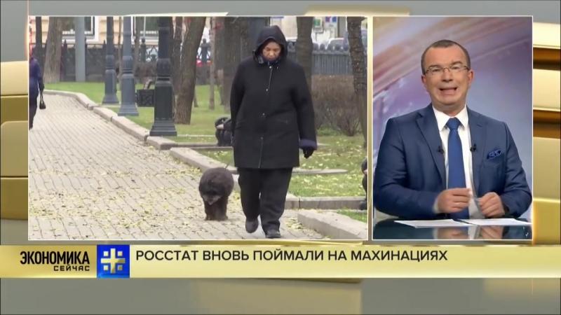 Юрий Пронько Росстат вновь поймали на махинациях с доходами граждан