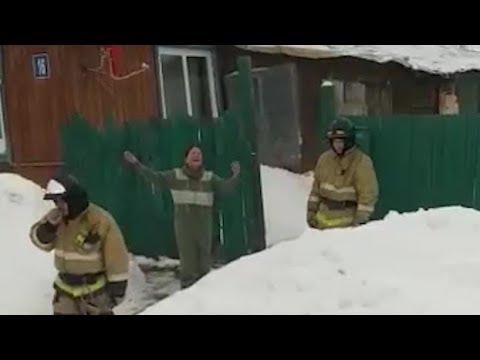 Уфимка вызвала пожарных потушить горящую душу