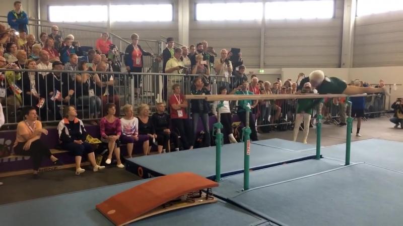 Выступление 91-летней гимнастки