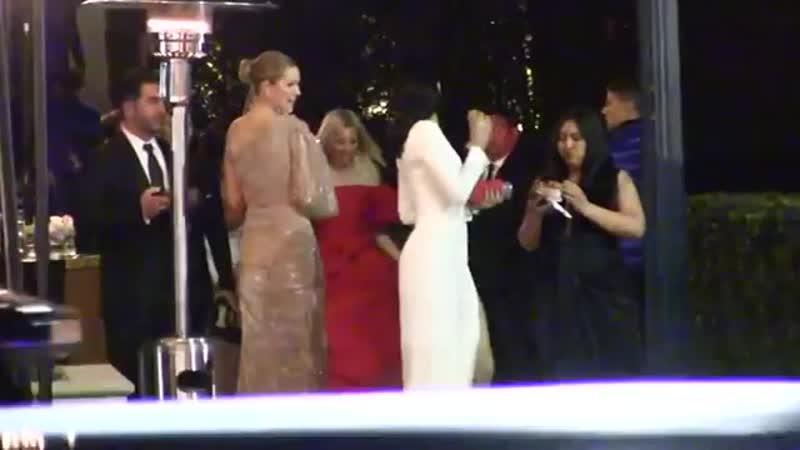 AdrianavLima at VanityFair Oscar Party Беверли Хиллз 24 февраля 2019 года