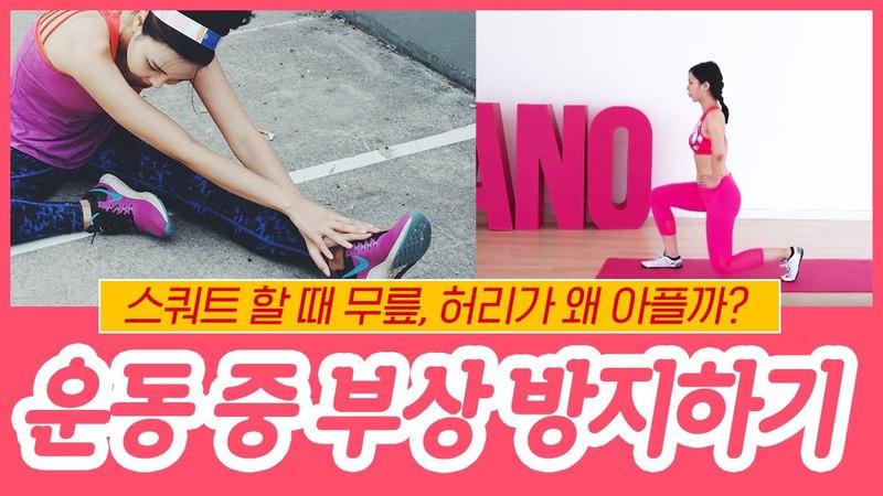 [ENG] 스쿼트할 때 무릎이 아픈 이유? 운동 중 부상 방지하기! (다이어트,운동할 46412