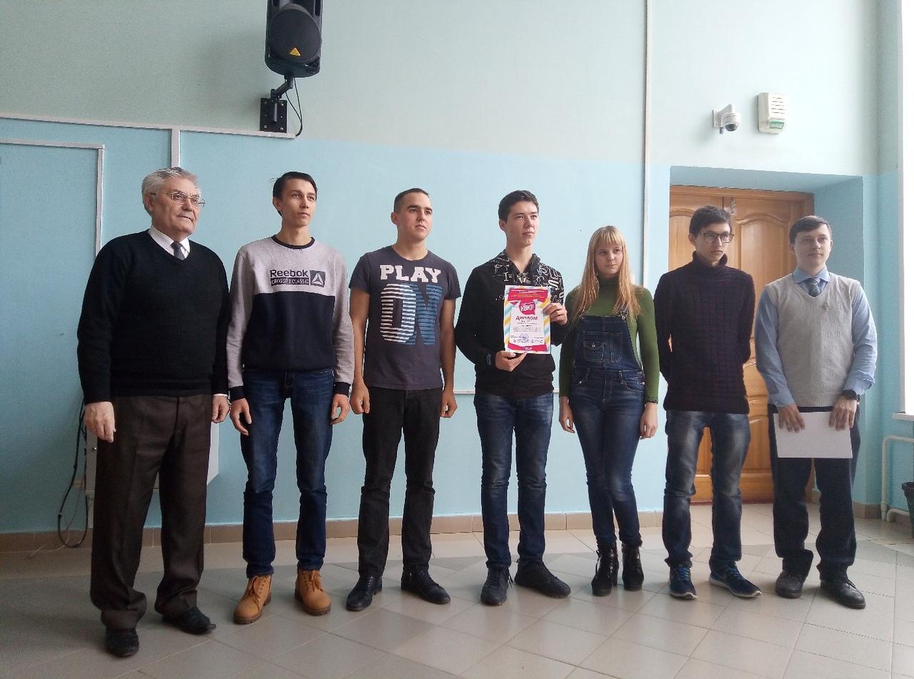 Награждение участников и победителей турнира КВИЗ-ПЛИЗ