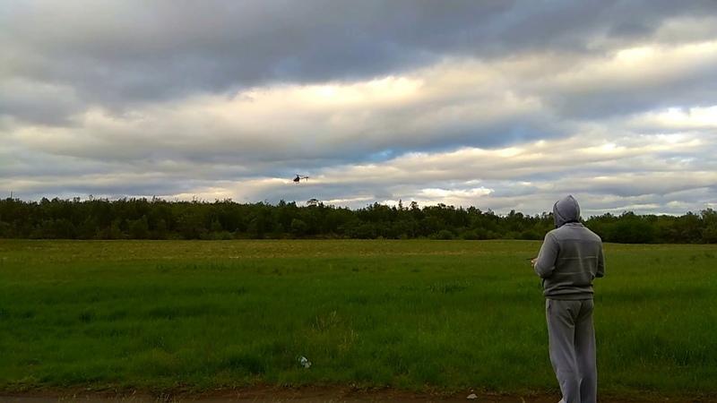 Tarot 450 6s полет на поле