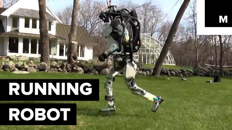 Watch Boston Dynamics' Atlas Go for a Run in the Woods