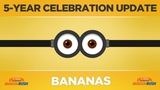 Minion Rush - Celebration Update - Bananas