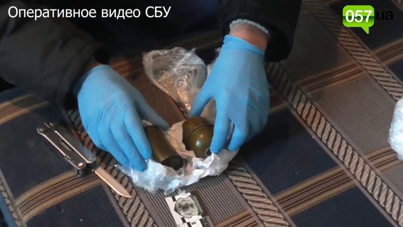 В Харькове СБУ задержала боевика самопровозглашенных «Л/ДНР» с арсеналом оружия