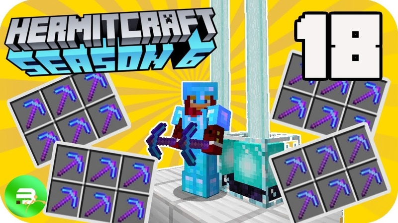 How to get ALL the BEST Picks!! - HermitCraft Season 6 (Multiplayer Minecraft 1.13 SMP) 18