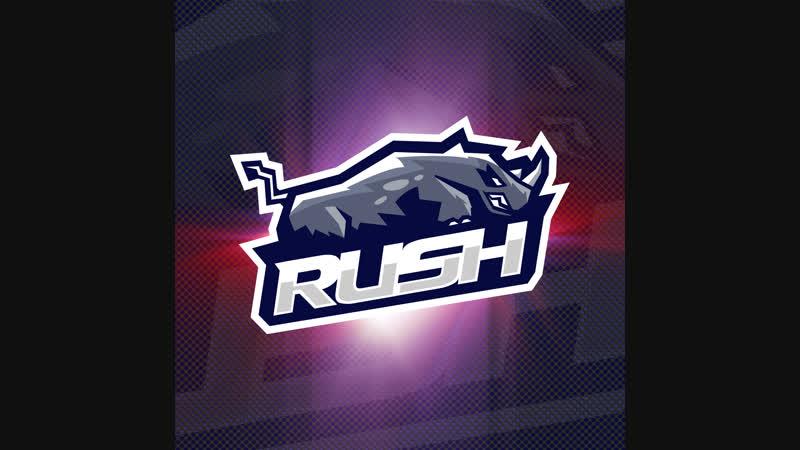 Rush. Esport Logo
