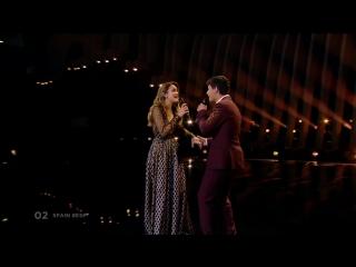 Amaia y alfred - tu cancion (spain) - eurovision 2018 - grand final - jury show