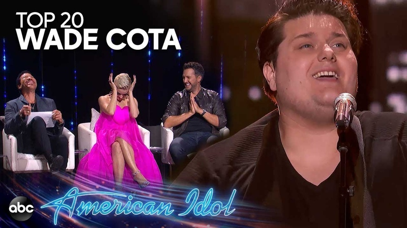 Wade Cota Performs All I Want by Kodaline for Top 20 Solos - American Idol 2019 on ABC
