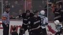 [HD] Joe Pavelski fights Ryan Whitney - Sharks vs Ducks Game 6 2009 NHL Playoffs