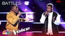 DeAndre Nico and Funsho Impress with New Edition's Can You Stand the Rain - The Voice 2018 Battles