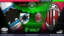 Amateur league КБР 2018| Серия А. 4 тур. Сампдория - Милан . 2 тайм.