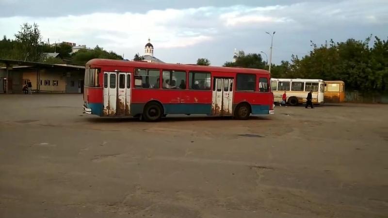 ЛиАЗ-677М В Арзамасе. Конец августа 2017