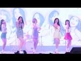 FANCAM 180802 NATURE Allegro Cantabile @ Lotte World Special Summer Party