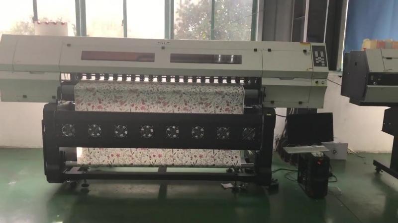 различные струйного принтера на нашем заводе, 1.6m/1.8m/2.0m/3.2m сублимация принтер и эко - растворитель принтер. сублимация