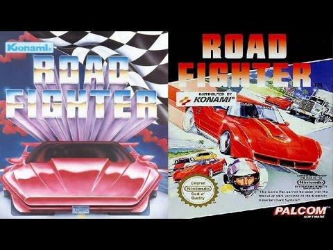 Road Fighter (NES/Dendy) Обзор-прохождение.